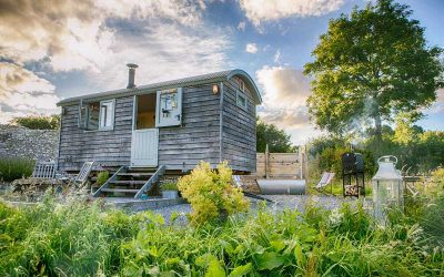 Make it a Shepherd Hut Staycation this Summer!