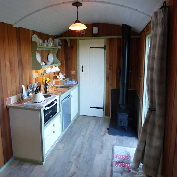 The Royal Oak in Fritham embraces shepherds huts