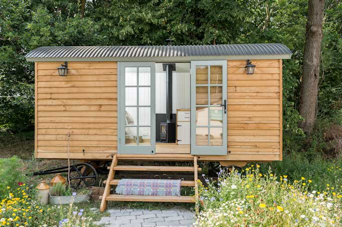 Paint Your Wagon! Blackdown Shepherd Huts & Teknos