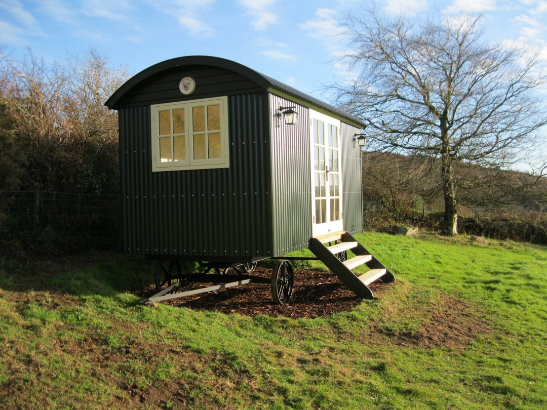 The Joy of Our Shepherd's Hut – Phil & Penny