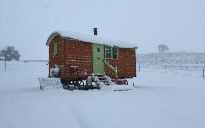 Top Tips For Winter In A Shepherd's Hut