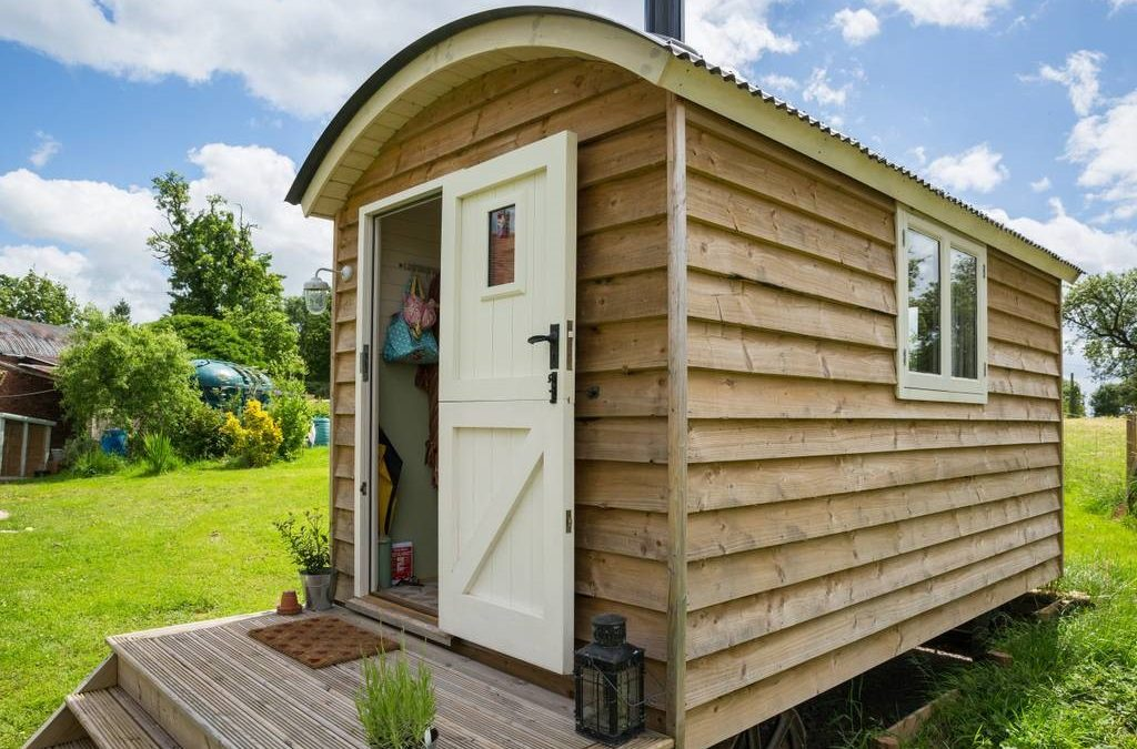 Creating an Airbnb success with a Self-Build Shepherd's Hut