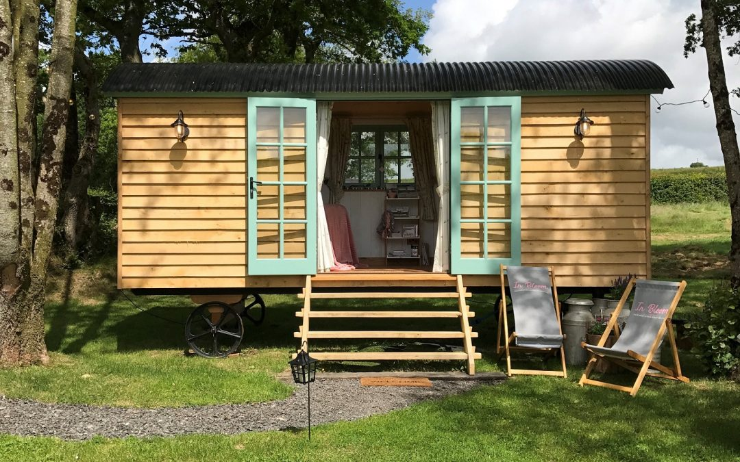 Press Release: ‎The Blooming Beauty Business in a Shepherd's Hut