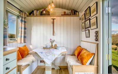 Why our huts make us happy!