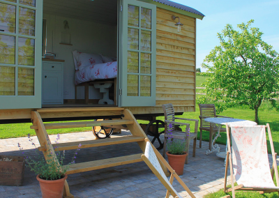 The Farm Diversification Glamping Hut