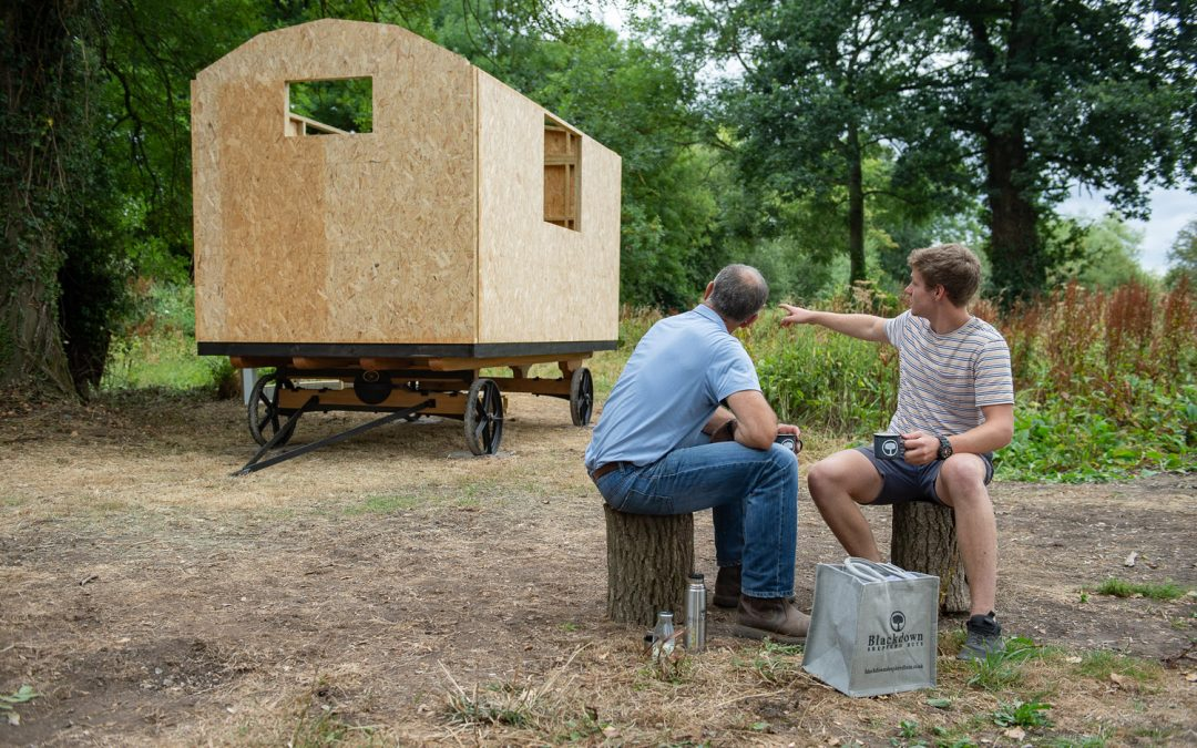 The DIY Dream – the self-build shepherd hut