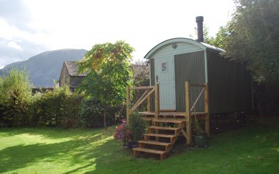 Andy Burr's SB177 14' Self Build Shepherd Hut
