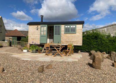Alison Cameron's Shepherd's Hut